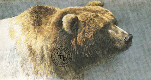 brown bear bateman painting