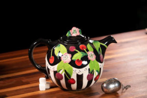 Icing on the Cake Cherry teapot