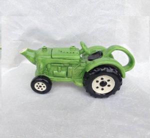 John Dere Tractor Teapot