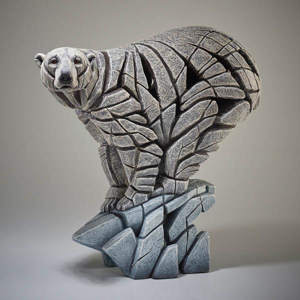 Polar Bear Edge Sculptures by Matt Buckley