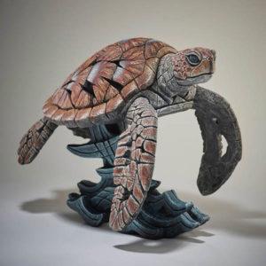 Sea Turtle Edge Sculptures by Matt Buckley