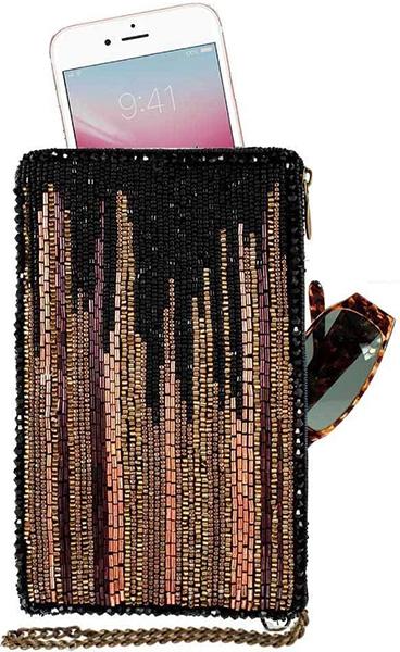 Skyline Metallic Crossbody phone bag