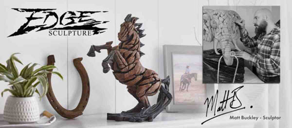 Edge Sculptures by Matt Buckley